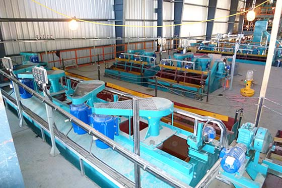 Lead Zinc Ore Flotation Beneficiation in Russia
