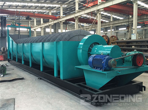 Spiral Sand Washing Machine(图1)
