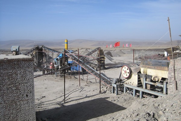 Granite Crushing Plant in Cameroon