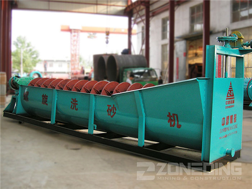 Spiral Sand Washing Machine(图4)