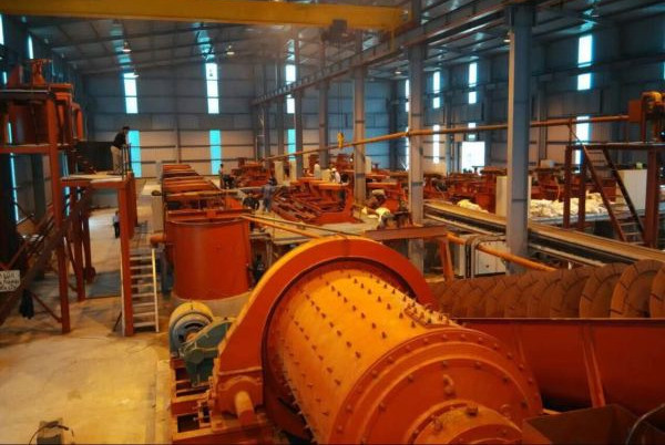 Copper Ore Beneficiation Plant in Turkey